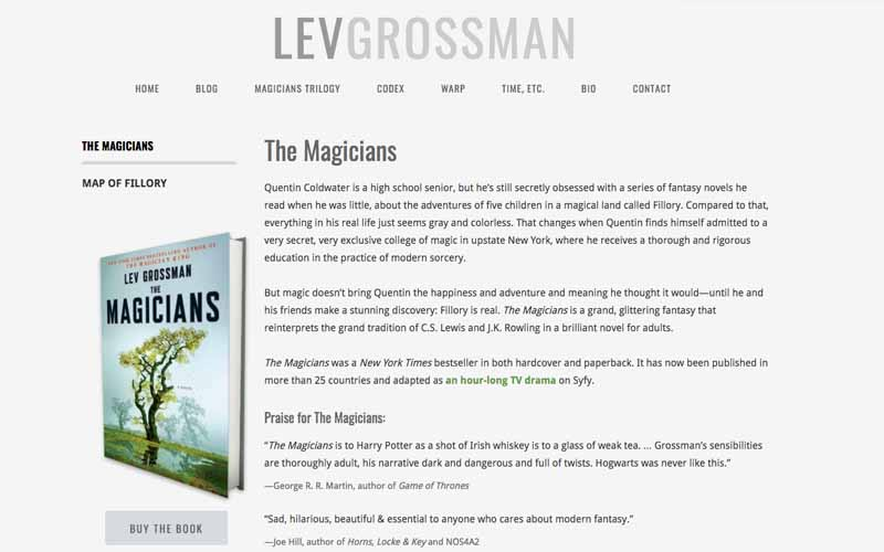 10 Fantasy Author Websites That Take Your Breath Away and Why