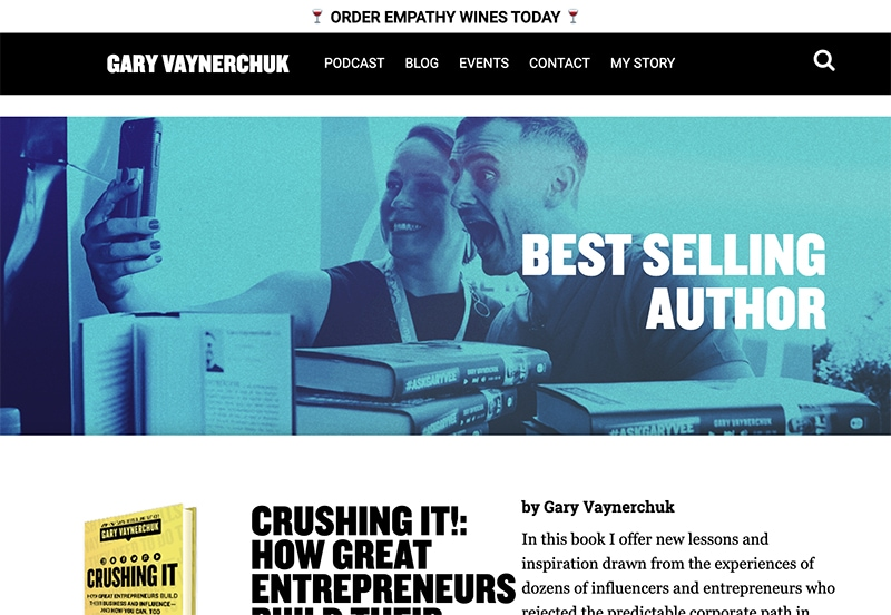 gary vaynerchuk website