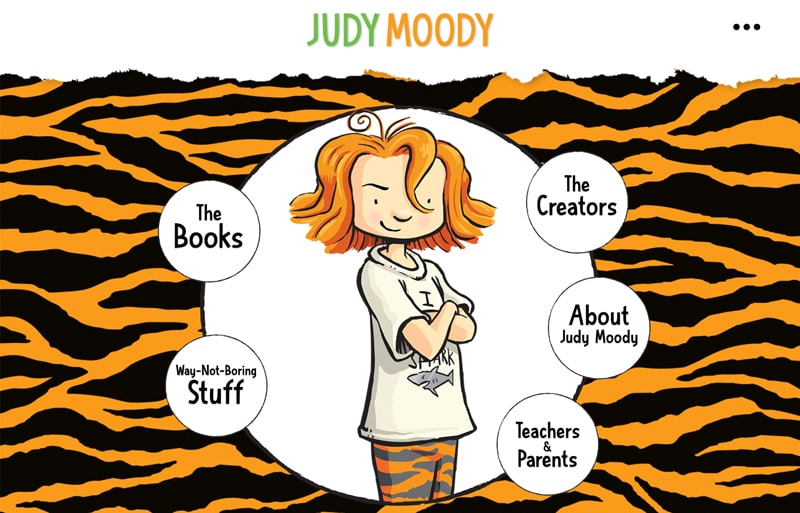 judy moody website