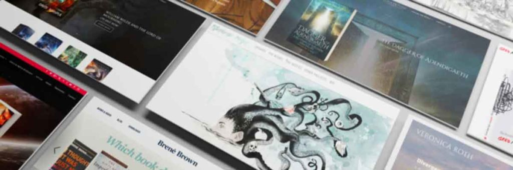 67 Epic Author Website Designs (and How To Improve Yours)