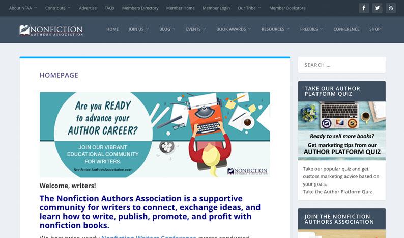 Nonfiction Authors Association (Stephanie Chandler) Blog