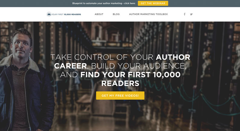 Your First 10K Readers (Nick Stephenson) Blog